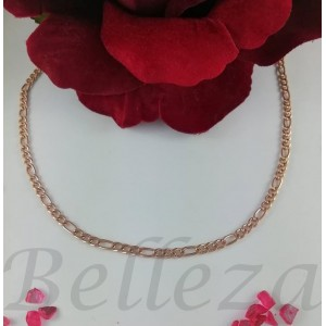 Ланец с цвят розово злато от медицинска стомана N - 21528