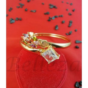 Гривна от медицинска стомана в златен цвят B - 1564