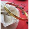 Дамска гривна в златен цвят от медицинска стомана B - 1158